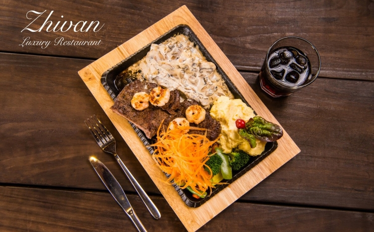 رستوران لاکچری ژیوان (Zhivan)