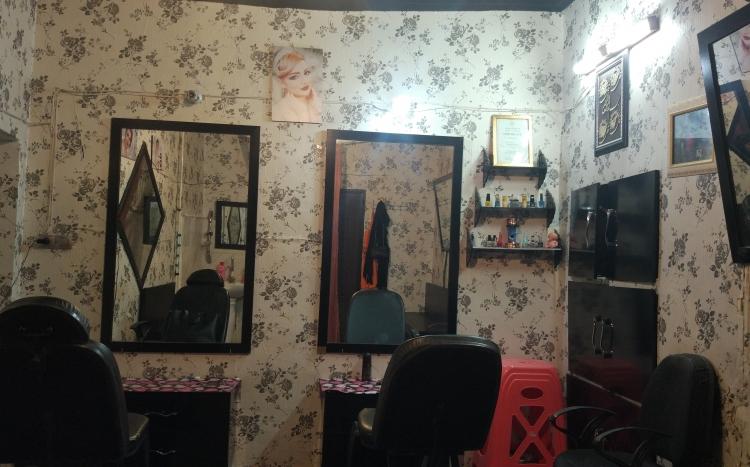 آرایشگاه زنانه الماس صورتی