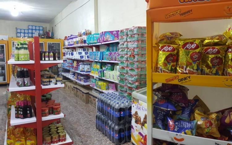فروشگاه مواد غذایی ژوان