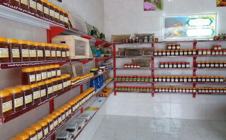 عسل طبیعی مزرعه ارگانیک کردستان