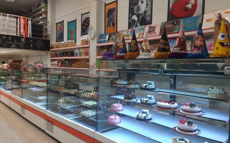 گالری شیرینی و شکلات پرتقال