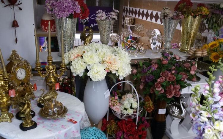 لوازم خانگی و تزئینات گل کاغذی